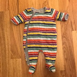 Baby Gap 0-3 months front snap, stripped one piece